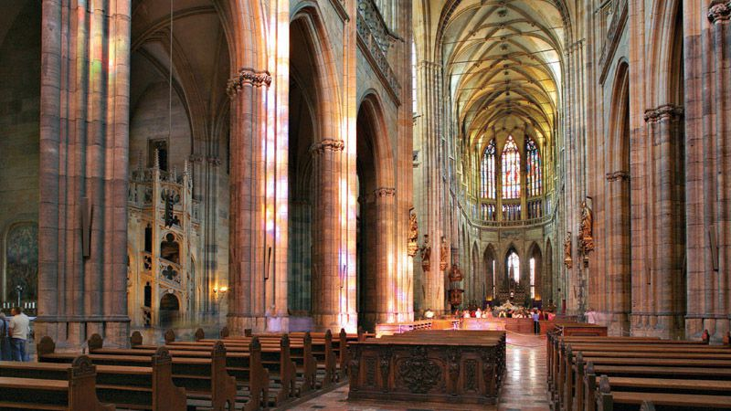 Cathedral of St. Vitus, Wenceslas and Adalbert - interior