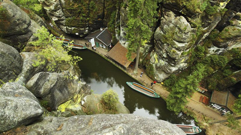 Bohemian Switzerland - gorges