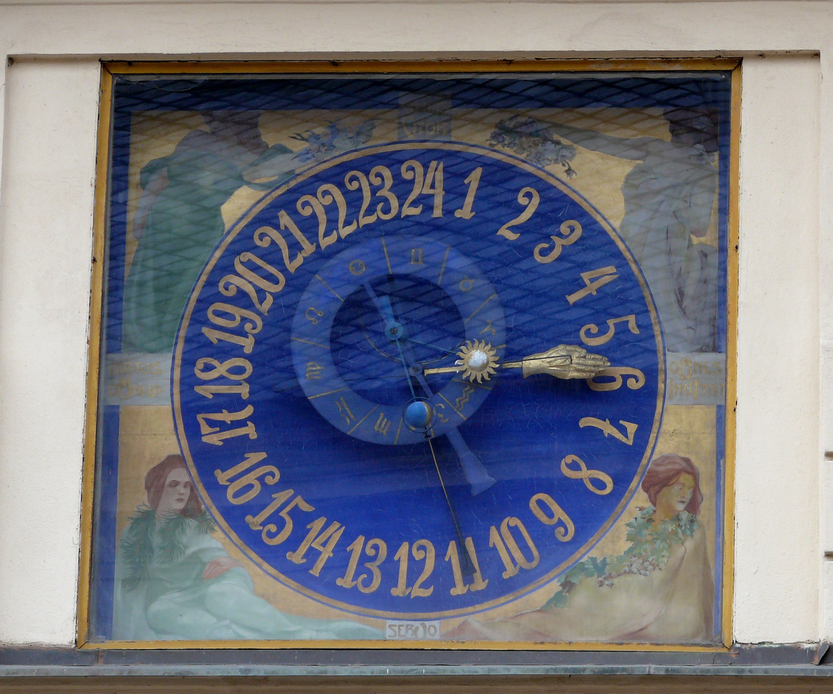 Litomyšl astronomical clock