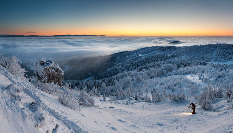 The glassy, picturesque and friendly Jizera Mountains