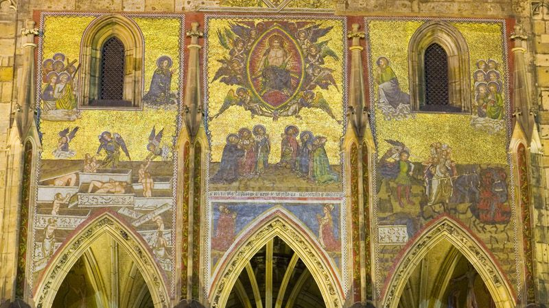 Cathedral of St. Vitus, Wenceslas and Adalbert - mosaic of the Last Judgement