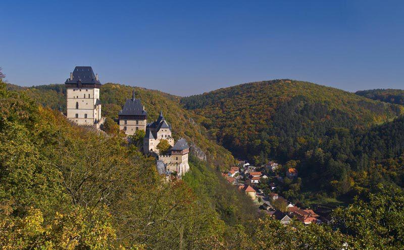 Le château fort de Karlštejn