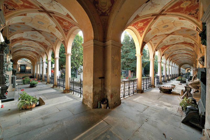 Wyszehrad – Cmentarz Slavínský