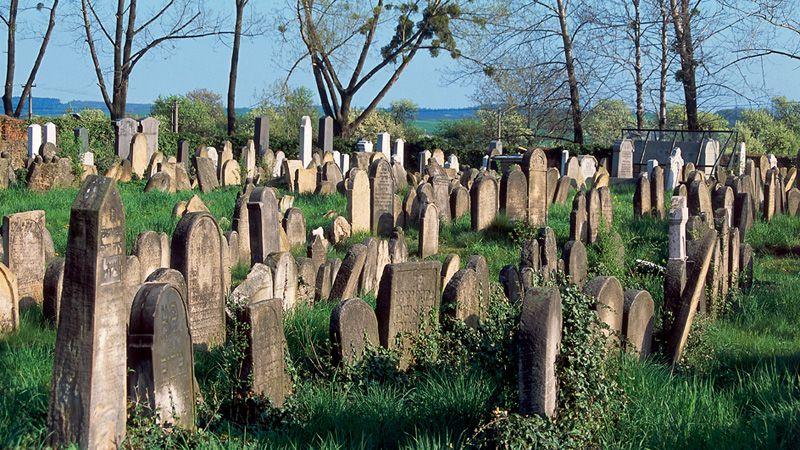 Holešov - le cimetière juif