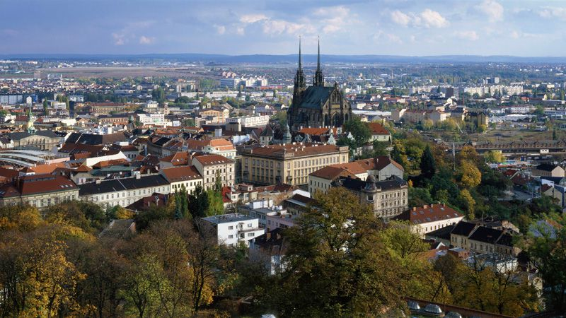 Brno - Cathedral of SS Paul and Peter