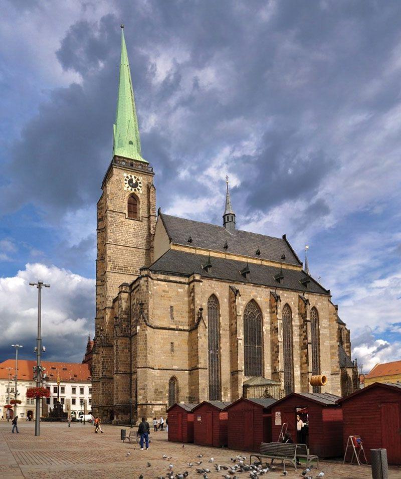 Plzeň - Cathedral of St. Bartholomew