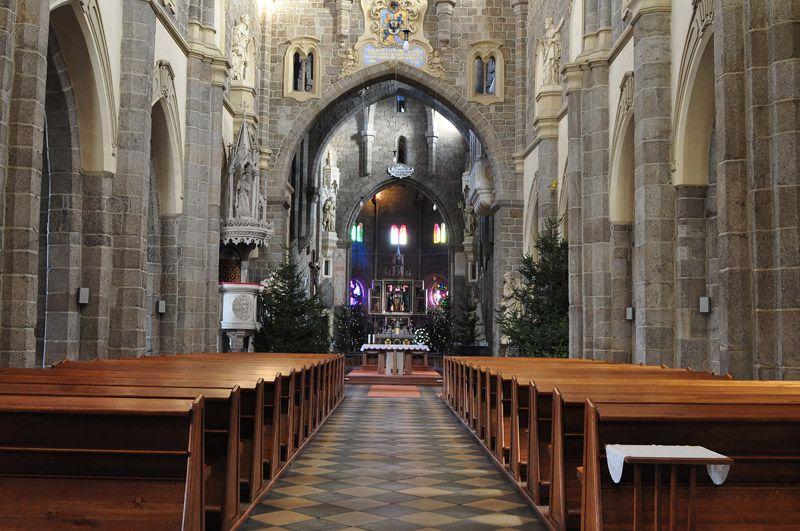 Třebíč – Bazylika św. Prokopa - wnętrze