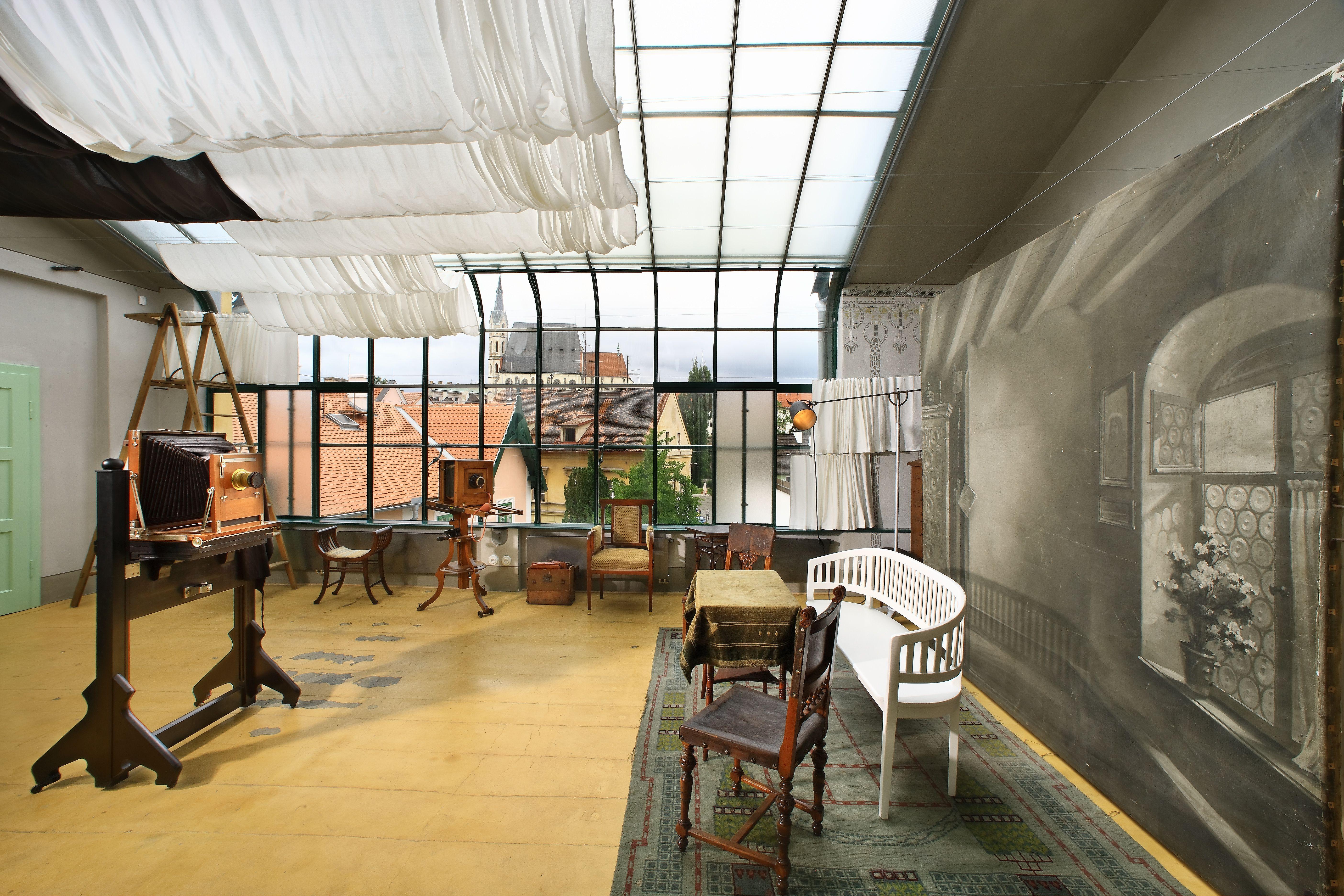 Czeski Krumlov - Muzeum Fotoatelier Seidel