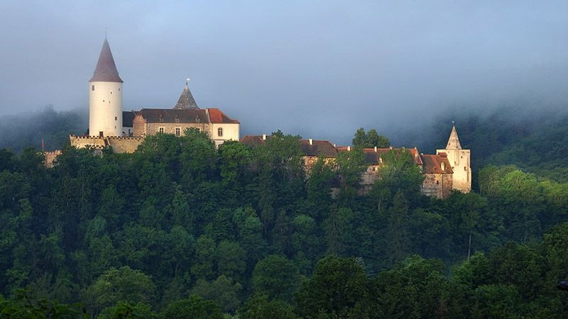 Le château fort de Křivoklát