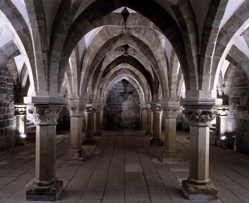 Třebíč - basilique Saint-Prokop - la crypte