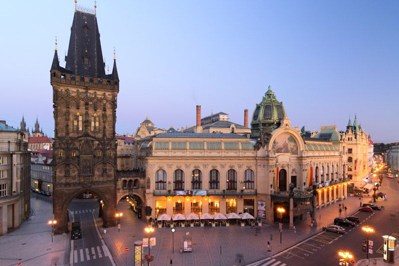Prague - Municipal House